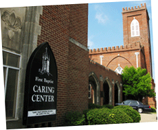 Caring Center front entry